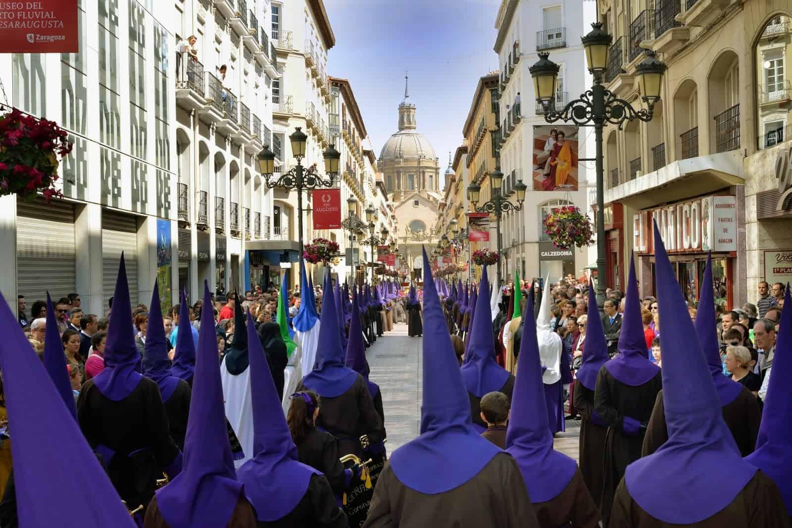 Semana Santa en Zaragoza, vívela en primera persona